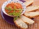 Рецепта Песто с мариновани сушени домати